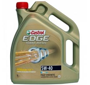 CASTROL Edge Turbo Diesel Titanium FST 5W40 5L Automobiliams